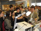 iLabRS. Visita de l'ETSETB i del Laboratori Remot